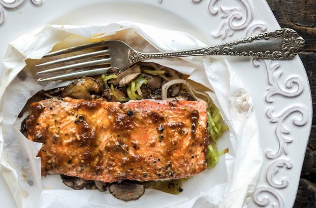 Miso Butter Salmon
