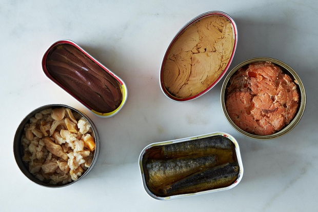 Varieties of Canned Fish